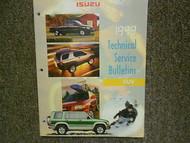 1999 ISUZU Technical Service Bulletin Repair Shop Manual OEM 99