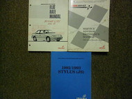 1993 Isuzu Stylus Service Repair Manual Shop Set FACTORY OEM 93