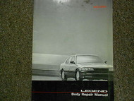 1986 Acura Legend Body Repair Service Repair Shop Manual FACTORY OEM BOOK 86