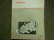 1989 Acura Four Speed Automatic Service Repair Shop Manual FACTORY OEM BOOK 89