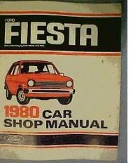 1980 FORD FIESTA Service Shop Repair Manual FACTORY OEM DEALERSHIP BOOK