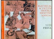 1980 Ford FIESTA ELECTRICAL WIRING DIAGRAMS Repair Service Shop Manual EVTM EWD