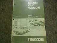 1983 Mazda GLC Wagon Service Repair Shop Manual FACTORY OEM BOOK RARE 83