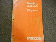1981 Mazda 323 GLC Training Service Repair Shop Manual FACTORY OEM BOOK 81