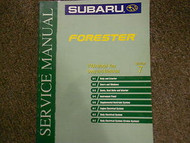 2000 Subaru Forester Body Electrical Section 7 Service Repair Shop Manual OEM