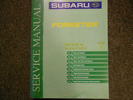 2001 Subaru Forester Body Electrical Section 7 Service Repair Shop Manual OEM 01