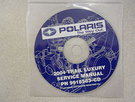 2004 POLARIS TRAIL LUXURY Service Repair Shop Manual CD FACTORY OEM NEW 04