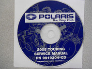 2005 POLARIS TOURING Service Repair Shop Manual CD FACTORY OEM HOW TO FIX 05