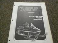 1979 Arctic Cat Trail Cat Illustrated Parts Catalog Manual Book FACTORY OEM x