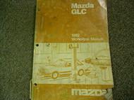 1982 Mazda GLC Service Repair Shop Manual FACTORY DEALERSHIP OEM BOOK 82