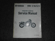 1988 Yamaha VMX12 N S U Service Shop Repair Manual OEM FACTORY BOOK 81
