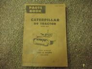 Caterpillar D9 Tractor Part Book 34A1 - 34A793 Power Sh