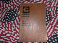 Caterpillar 183 Hydraulic Control Part Book 59P 60P