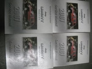 2007 JEEP LIBERTY Service Shop Repair Manual Set OEM 4 BOOKS HUGE MOPAR JEEP