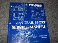 2005 Polaris TRAIL SPORT SUPERSPORT 500 INDY Service Shop Repair Manual FACTORY