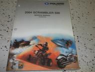 2004 Polaris SCRAMBLER ATV 500 Shop Repair Service Manual FACTORY OEM BOOK 2008