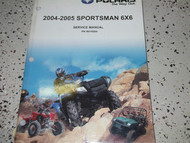 2004 2005 Polaris SPORTSMAN 6X6 SIX BY SIX Service Shop Repair Manual OEM 04 05