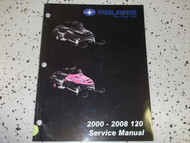 2000 2001 2002 2003 2004 2005 06 07 2008 Polaris 120 Shop Repair Service Manual