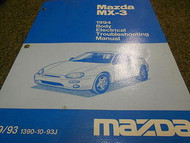 1994 Mazda MX-3 MX3 Body Electrical Service Repair Shop Manual BOOK OEM 94