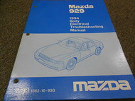 1994 Mazda 929 Body Electrical Troubleshooting Manual FACTORY OEM BOOK 94