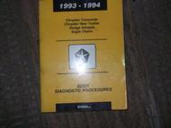 1993 Eagle Vision Body Diagnostic Service Shop Manual