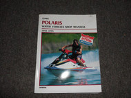1992 1993 1994 1995 POLARIS Troubleshooting Engine Water Vehicles Shop Manual