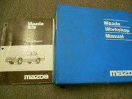 1991 Mazda 929 Service Repair Shop Manual SET FACTORY OEM BOOKS 91