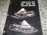 1990 Arctic Cat Jag Super Jag Service Repair Manual FACTORY OEM BOOK 90 JAG