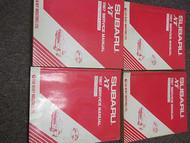 1987 Subaru XT Service Repair Shop Manual HUGE SET FACTORY OEM BOOKS 87
