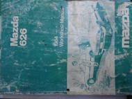 1984 Mazda 626 Service Repair Shop Manual FACTORY OEM BOOK Gasoline WORKSHOP 84