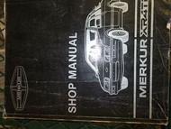 1984 1985 Merkur XR4Ti Service Shop Manual FACTORY