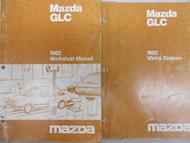 1982 Mazda GLC Service Repair Shop Manual SET FACTORY OEM BOOK RARE 82