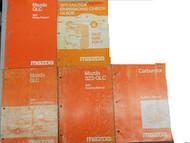 1981 Mazda GLC Service Repair Shop Manual SET FACTORY OEM RARE BOOKS 81