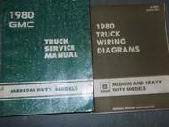 1980 GMC MEDIUM DUTY MODELS TRUCK Service Shop Repair Manual SET OEM 80 FACTORY