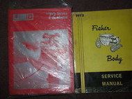 1972 Pontiac Firebird GTO Trans Am Service Shop Repair Manual SET DEALERSHIP OEM
