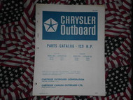 1971 Chrysler Outboard 12.9 HP Parts Catalog 122 123 HC
