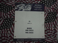 1968 Sea King Wards 55 HP Part Catalog 299551 299561