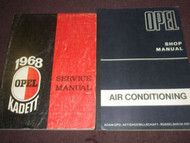 1968 OPEL KADETT & GT Service Shop Repair Manual SET BOOK Factory OEM 69 RARE