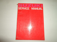 1965 Suzuki 55 Model M31 Service Repair Shop Manual DAMAGED FACTORY OEM BOOK 65