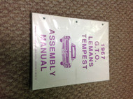 1967 GM Pontiac GTO Factory Assembly Instruction Manual OEM Factory Brand New