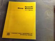 1972 1973 1974 1975 1976 Kawasaki F11 F 11 Service Repair Shop Manual NEW BOOK x