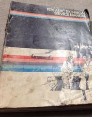 1975 AMC AMERICAN MOTORS Gremlin Hornet Matador Service Shop Repair Manual OEM