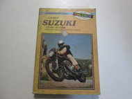 1977 1986 Clymer Suzuki GS550 Service Repair Maintenance Manual STAINED DAMAGED