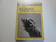 1977 1987 Clymer Suzuki GS400 450 TWINS Service Repair Maintenance Manual DAMAGE