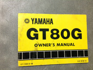 1979 1980 YAMAHA GT80 GT 80 G FACTORY OWNERS Manual OEM BOOK 80 x