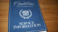 1980 Cadillac BROUGHAM DEVILLE ELDORADO FLEETWOOD SEVILLE Service Shop Manual