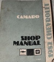 1982 GM Chevrolet Chevy Camaro Service Repair Workshop Manual OEM FACTORY 1982