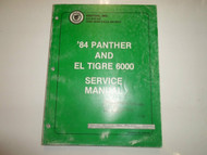 1984 Arctic Cat Panther El Tigre 6000 Service Repair Workshop Manual OEM 84 x