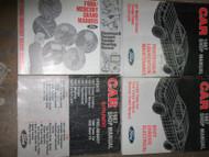 1987 Lincoln Town Car Service Shop Repair Manual Set W Powertrain + Supplement