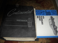 1988 LINCOLN CONTINENTAL Service Repair Shop Manual SET W ELECTRICAL BOOK